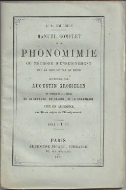 manuel complet phonomimie couverture