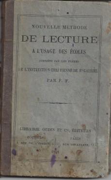 méthode école St Gabriel 1 1891