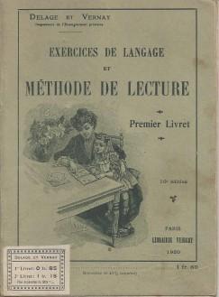 Delage et Vernay 1er livret 1