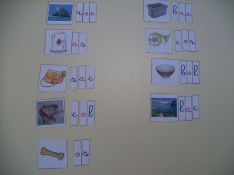 dictée muette Montessori