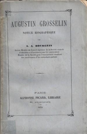Grosselin couverture biographie 1870