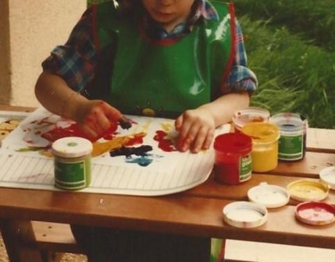 peinture au doigt 2
