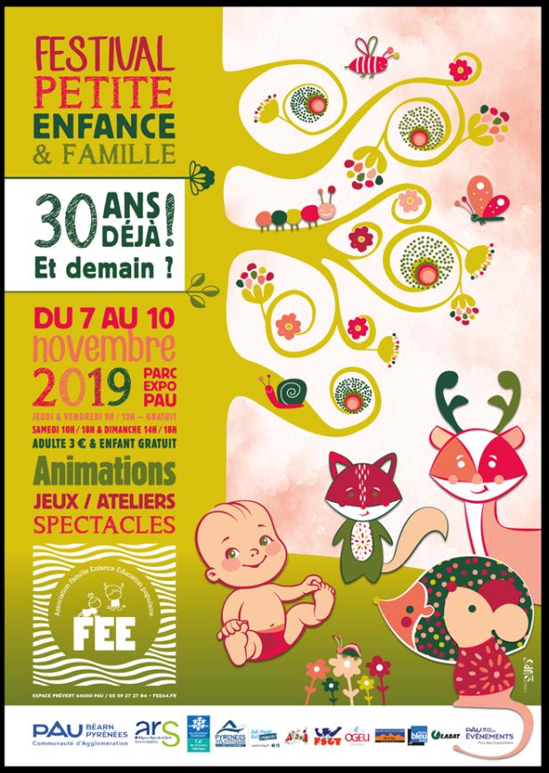 festval petite enfance 2019 pau affiche
